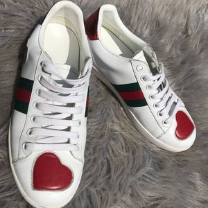 Gucci Shoes   Gucci Ace Heart Shoes